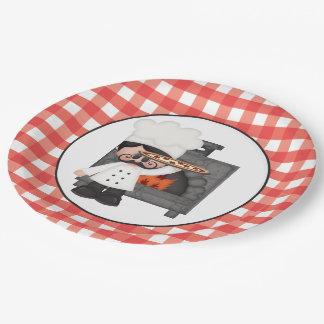 Placa de papel del cocinero de la hornada del platos de papel