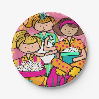 Placa de papel del cumpleaños de la fiesta de platos de papel