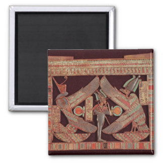Placa de pecho que representa Osiris, dios de Imán Cuadrado