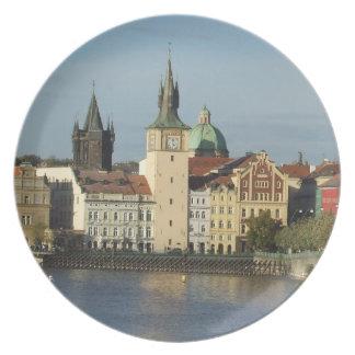 Placa de Praga Platos Para Fiestas
