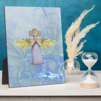 Placa de rogación del ángel