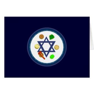 Placa de Seder Tarjeta Pequeña