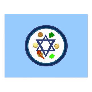 Placa de Seder Postales