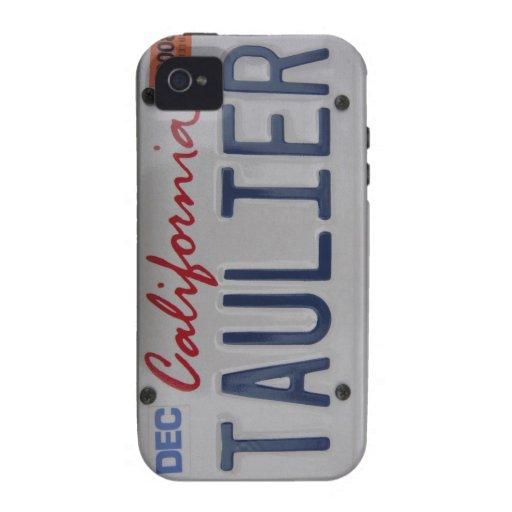 Placa de Taulier California Case-Mate iPhone 4 Carcasas