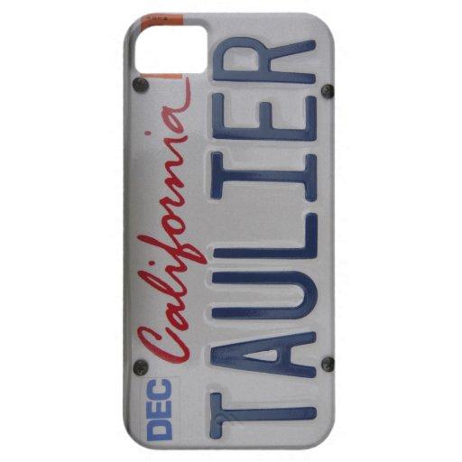 Placa de Taulier California iPhone 5 Cárcasa