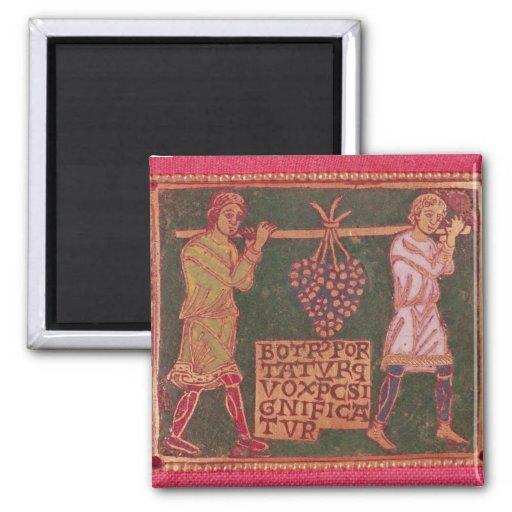 Placa de una cruz imán para frigorifico