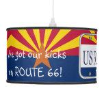 Placa de vanidad de Arizona de la RUTA 66 de los E