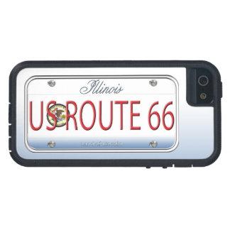 Placa de vanidad de Illinois de la RUTA 66 de los  iPhone 5 Carcasa