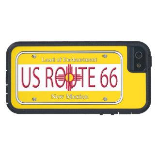 Placa de vanidad de New México de la RUTA 66 de lo iPhone 5 Protector