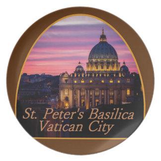Placa de VATICAN Italia Plato