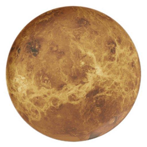 Placa de Venus Platos Para Fiestas