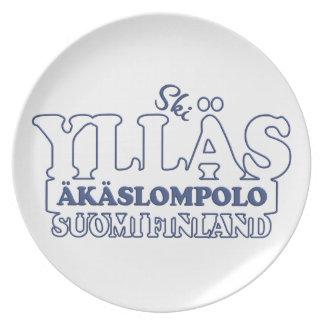 Placa de YLLÄS FINLANDIA Plato De Cena