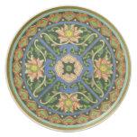 Placa decorativa china ornamental plato