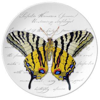 "Placa decorativa de la porcelana de ""Homerus"" Platos De Cerámica"