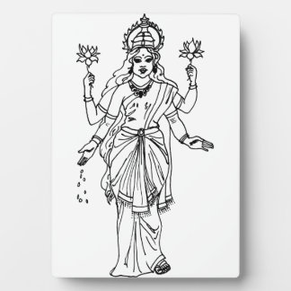 Placa del altar de Lakshmi