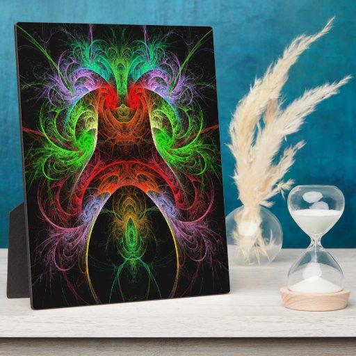 Placa del arte abstracto de Carnaval