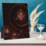 Placa del arte abstracto de la luz de las estrella