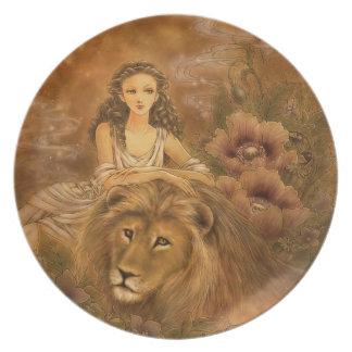 Placa del arte de la fantasía - Circe Platos