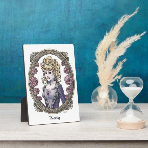 """Placa del arte de la fantasía de 5x7 de la """"bellez"""