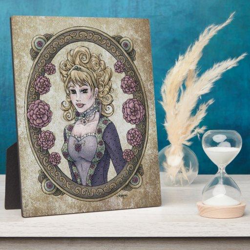 """Placa del arte de la fantasía de 8x10 de la """"belle"""