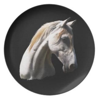 Placa del arte de los Equino-amantes del caballo Plato
