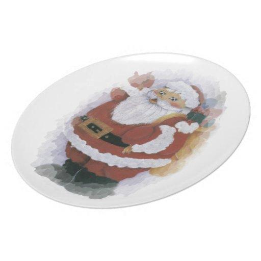 placa del arte plato para fiesta