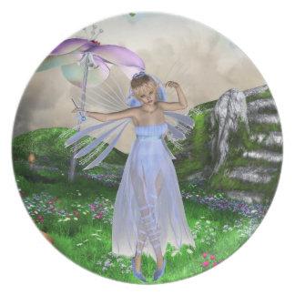 Placa del baile de Fae Platos