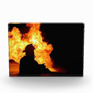 placa del bombero