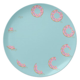 Placa del buñuelo platos de comidas