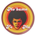 Placa del coleccionable de Mo'bama Platos