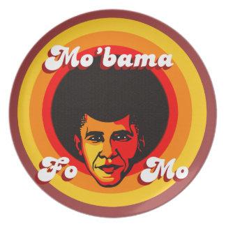 Placa del coleccionable de Mo'bama Platos Para Fiestas