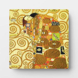 Placa del cumplimiento de Gustavo Klimt