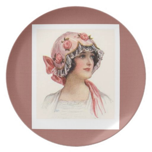 Placa del día de madre del vintage del el día de S Plato