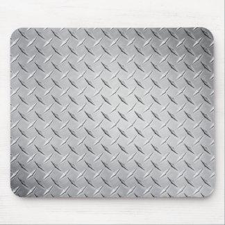 Placa del diamante alfombrillas de ratón