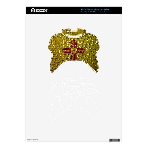 Placa del diamante de la bandera de New México Mando Xbox 360 Skin
