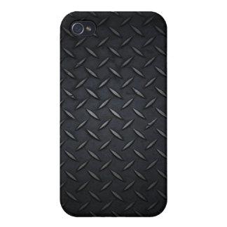 Placa del diamante iPhone 4 carcasas