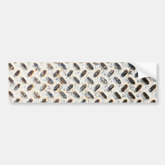 Placa del diamante (luz) pegatina de parachoque
