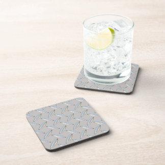 Placa del diamante metálica posavasos de bebidas