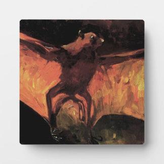 Placa del Fox de vuelo de Van Gogh