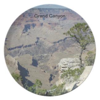 Placa del Gran Cañón Platos Para Fiestas