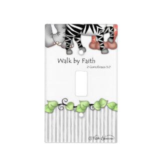 """Placa del interruptor de la fe de BaZooples """"paseo Tapa Para Interruptor"""