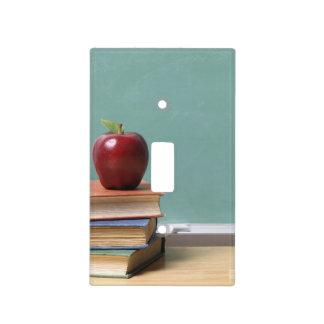 Placa del interruptor de la luz del educador cubierta para interruptor