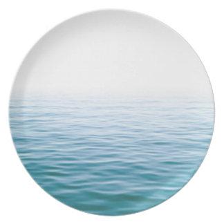 Placa del lago Ontario Platos