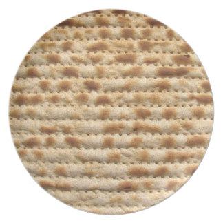Placa del Matzah para el Passover Seder y diario Platos Para Fiestas