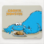 Placa del monstruo de la galleta del vintage de tapetes de ratón