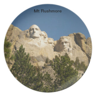 Placa del Mt Rushmore Platos