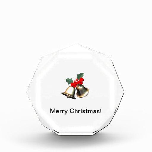 Placa del navidad