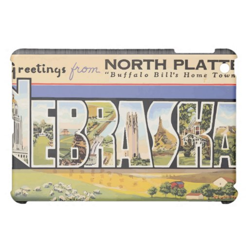 """Placa del norte la """"ciudad natal"""" Nebraska, V de B"""
