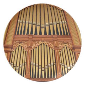 Placa del órgano de ayuntamiento de Adelaide Platos
