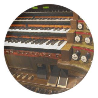 Placa del órgano de Wiesbaden Plato